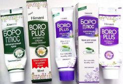 Эффективность применения крема Боро Плюс при ожогах