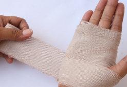 Как обрабатывать рану после ожога: средства и алгоритм действия