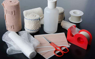 Правила наложения повязок на раны разных видов