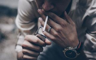 Особенности ожога от сигареты и его лечение