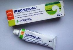 Как применять мазь Левомеколь для лечение открытых, гнойных и зашитых ран
