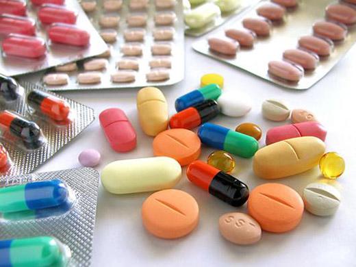 различные виды таблеток