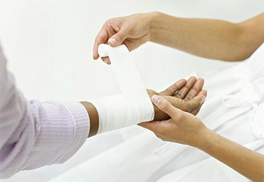 перевязка раны