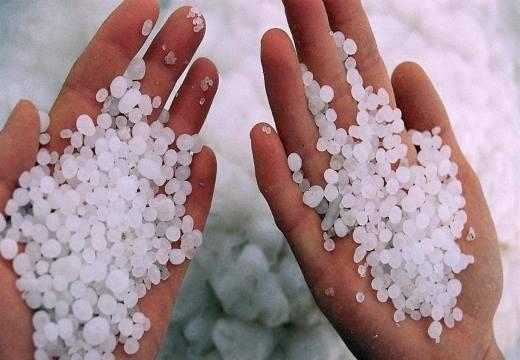Соль на руках