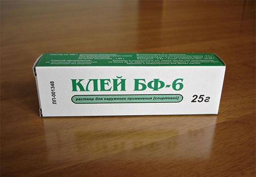 коробка с клеем