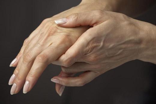 рубец на руке