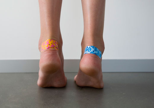 Пластырь на ноге от мозолей