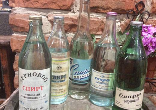 виды спирта