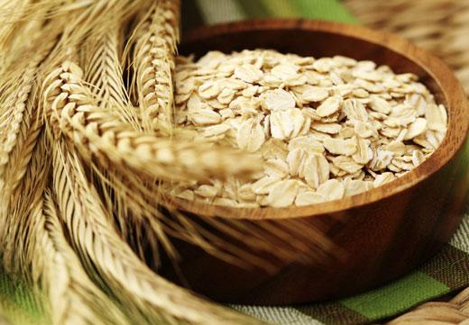 Овсянка и пшеница