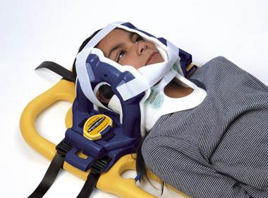 транспортировка при ранении шеи