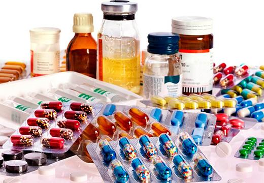 Медикаменты для обработки